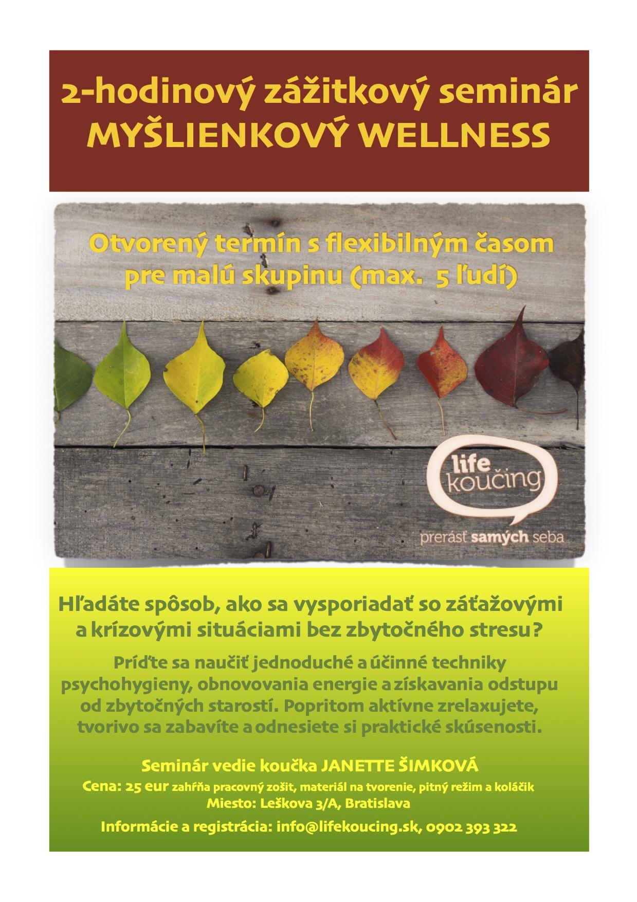 leták wellness